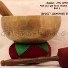 "8"" Hand Hammered Singing Bowl- Notes A,B,C,D,E,F&G-Meditation Bowls Nepal 2051"