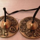 Tibetan Tingsha ( Chimes ) - Auspicious Symbol - Medium -Gifts From Nepal BC168