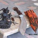 """10"""" Blade Historic Gurkha Khukuri ~Handmade Khukuri~Kukri ~ Blade from Nepal 012"""