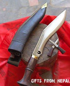 """10"""" Chainpure Gurkha Khukuri ~Handmade Khukuri~Kukri ~ Blade from Nepal 021"""