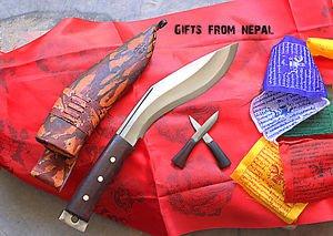 "8"" Afgan Khukuri,Handmade Gurkha Khukuri from Nepal,Knife ,Blade , Kukri 014"