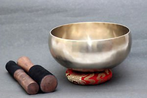 "8"" Singing Bowl - 9 Metal - Buddha Bowl - Shankha Bowl-High Quality Singing Bowl"