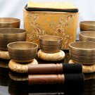Antique Design Chakra Healing Tibetan Singing Bowl Sets -7 Sets-Meditation Bowls