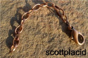 "Chunky 3"" Copper Tone Metal Extender Chain For Fashion Costume Jewelry Necklace"