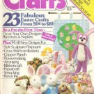 Vintage April 1983 Crafts Magazine