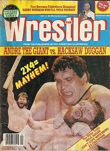 The Wrestler Magazine Victory Sports Series ANDRE the GIANT Sept 1988 Magazine
