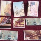 8 Vintage ET Scrapbook Album Puzzle Stickers Topps 1982 ITALY
