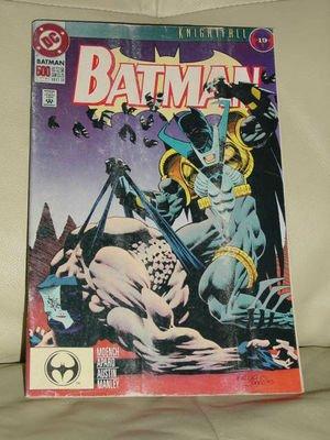 Batman Lot 3 Knightfall Comic Book Trade DC #19 Oct 93