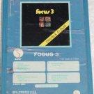 Focus 3 Double Album Vintage 8 Track Tape Stereo Music Cartridge Cassette