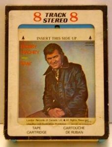 BOBBY HACHEY sing ELVIS Vintage 8 Track Tape Stereo Music Cartridge Cassette