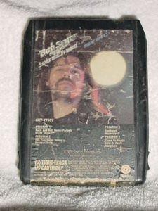 Bob Seger Night Moves Vintage 8 Track Tape Stereo Music Cartridge Cassette