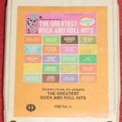 Dynamic House The Greatest Rock and Roll Hits Vol. II Vintage 8 Track Tape