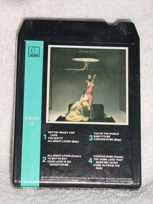 Diana Ross Baby It�s Me Vintage 8 Track Tape Stereo Music Cartridge