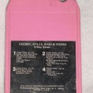 Crosby Stills Nash Young 4 Way Street Vintage 8 Track Tape Pink Music Cassette