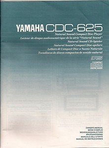 Yamaha CDC-625 Owner�s Manual Multilingual RS Compact Disc Digital Audio