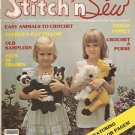 Vintage Stitch 'n Sew June, 1980 Volume 13 Number 3 Magazine