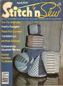 Vintage Stitch 'n Sew April, 1979 Volume 12 Number 2 Magazine