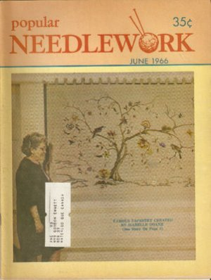 Vintage Popular Needlework June 1966 Magazine
