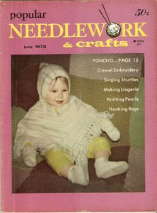 Vintage Popular Needlework and Crafts June 1973 Magazine