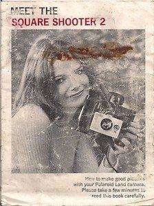 Vintage Polaroid Land Camera Booklet Meet The Square Shooter 2 Polacolor
