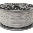 Silver PLA Plastic 1.75mm Filament 1kg spool, for Mendel, Makerbot, printrbot,etc