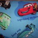 Disney cars on blue Medical ScrubTop