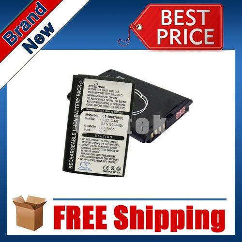 1000mAh Battery For Blackberry 8700, 8700c, 8700f, 8700g, 8700v, 8707g, 8707