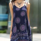 Bohemian Backless Strappy Dress