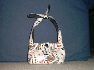 Aces High Classic Tote with Tie Straps (Small)