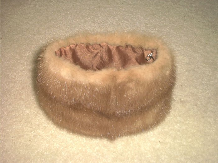 Blonde Mink Evening bag