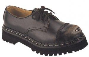 Digger - Men's 3 Eyelette Shoe with Grinder Steel Toe