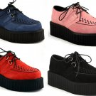 """Creeper"" - Men's Suede Platform Shoes"