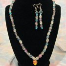Opalescent Necklace Set