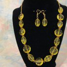 Bright Yellow Bling Set