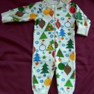 NWT Hanna Andersson Christmas ZIPPERS size 60 2-6 mos.
