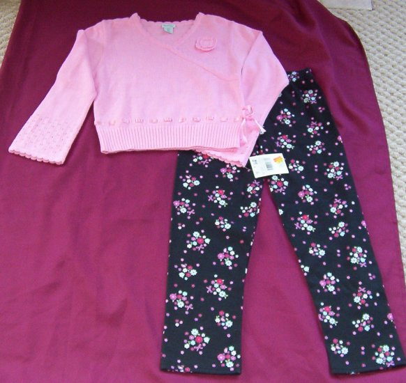 New w Tags Healthtex girls sweater & pants set Size 7