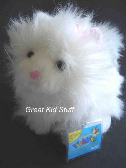 Webkinz Persian Cat Kitty Kitten Webkins New Tag