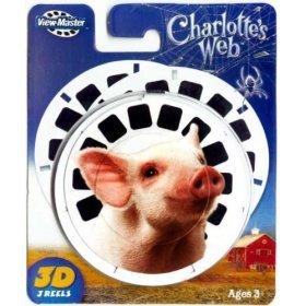 ViewMaster Reels Charolottes Web View Master New