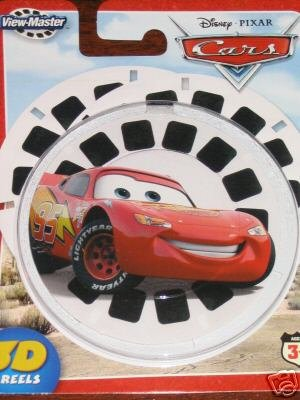 View Master Reels Disney Cars Movie Pixar ViewMaster New 3D
