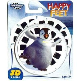 View Master Reels Happy Feet ViewMaster New 3D