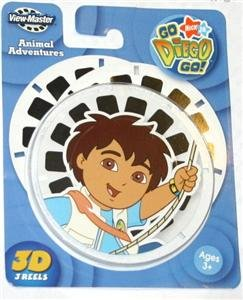 View Master Reels Go Diego ViewMaster New 3D