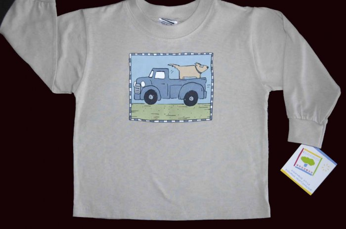 NWT Boys MULBERRIBUSH Tee Shirt Top Truck Dog 2T