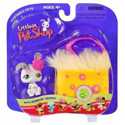 Littlest Pet Shop Bunny Rabbit with Purse Little PetShop New
