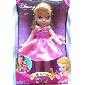 Disney Princess Soft & and Sweet Sleeping Beauty Little Doll