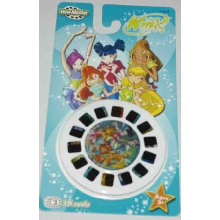 View Master WINX CLUB 3D Reel Set 3 Pk Viewmaster
