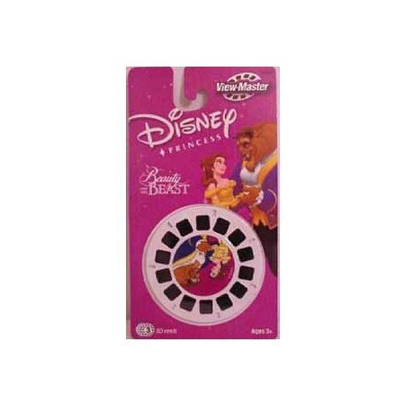 View Master PRINCESS Belle Beauty Beast 3D Reels Set 3 Pk Viewmaster