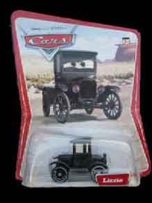 Disney Cars Lizzie Lizzy Model T Original New Pixar