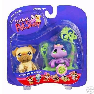 Littlest Pet Shop Spider Web Bulldog Dog Little PetShop New