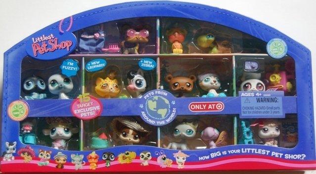 Littlest Pet Shop AROUND the WORLD Target Exclusive Little PetShop New