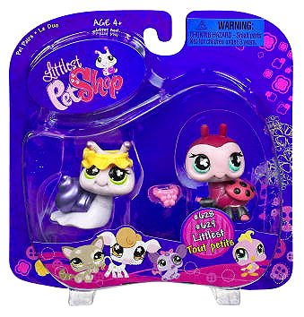 Littlest Pet Shop Ladybug Snail 628 629 Little PetShop